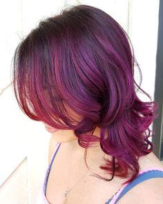 35 Brilliant Short Purple Hair Ideas — Too Stunning to Ignore