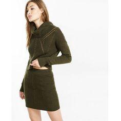 Wonderfully Feminine 80 Angora Cowl Neck Sweater Size Large Furry ...