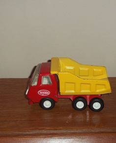 I still have all my Tonka Trucks! LOVED playing with them Tonka Trucks, Tonka Toys, Antique Toys, Vintage Toys, Collectible Toys, Child Hood, Matchbox Cars, Dump Truck, Classic Toys