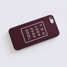 "{ iPhone 5/5s } | ""Cool"" Phone Case ➳ Item Description: This is a sleek and matte feel phone case. It has a cute tumblr aesthetic print on it. It says ""You Look //So// Cool""! Fun & quirky. Does NOT cover the front fully.   ➳ Item Details: Color: Wine Red Compatibility: iPhone 5/5s Available: 1  The price is firm, but will be discounted through bundles.  Please consider that the colors you see on your device will probably not look the same in person! This is ONLY the case. It does not come…"
