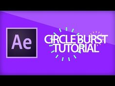 After Effects Tutorial | Circle Burst - YouTube