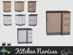 BuffSumm's Kitchen Narissa Stove Counter Left Side