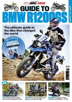 From the makers of leading publications <em>MCN, Bike</em> and <em>RiDE</em> comes the first in the <strong>Best of Biking Series: Guide to BMW R1200GS</strong>. This 132-page special celebrates Britain's biggest selling motorcycle.    Inside this special edition you'll find all the latest models and variants reviewed & rated, the ultimate GS buying guide to suit every budget and epic touring tales.    This really is the ultimate guide to the bike that changed the world.