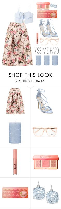 """Untitled #44"" by kell-a ❤ liked on Polyvore featuring Ted Baker, Steve Madden, Broste Copenhagen, Chloé, Too Faced Cosmetics and Kate Spade"