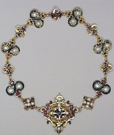 Rare: Few jewels and even fewer garments dating from the Tudor and Stuart period survive