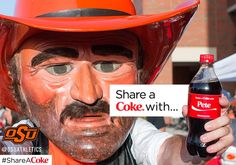 "Share a ""Coke"" with Pete!"