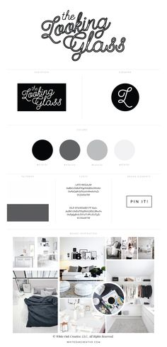 blog design for home decor and style blog, The Looking Graphic - graphic design, blog design, wordpress blog, mood board inspiration