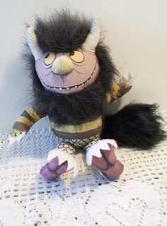 Where The Wild Things Are Stuffed Animal Toy Beast Book