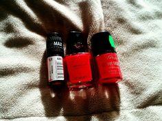 Czerwone lakiery