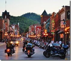 "#Deadwood, South Dakota. Relive the good ol' days and go during ""Wild Bill Hickock Days."""