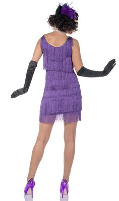 Buy this Short purple flapper dress for women at Heaven Costumes Australia. This supreme quality fringed purple flapper costume is shipped from Adelaide. Great for a Gatsby party. 1920s Dress Up, Gatsby Dress, 1920 Gatsby, 1920s Costume, Speakeasy Party, 20s Flapper, Gatsby Theme, Three Sisters, Dressed To Kill