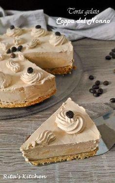 Ice Cream Desserts, Cheesecake Desserts, No Cook Desserts, Frozen Desserts, Sweets Recipes, Delicious Desserts, Yummy Food, Italian Gelato Recipe, Pistachio Gelato