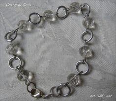 Bracelet perles Cristal de Roche
