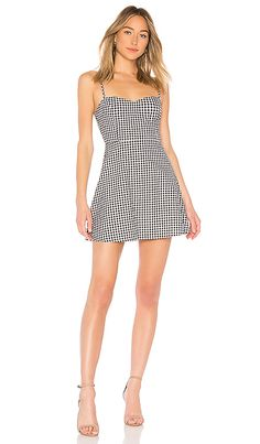 by the way. Viola Sweet Heart Dress in Gingham | REVOLVE
