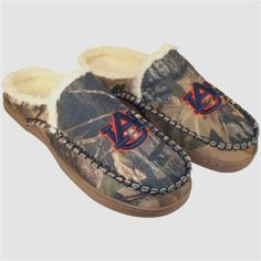 9c2e2a4c10bae5 $34.95 Auburn Tigers Sherpa-Lined Hooded Scuff Slippers - Camo Fan Store,  Auburn University