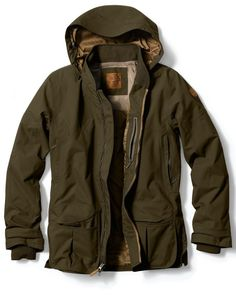 Waterproof Field Jacket by Eddie Bauer definitely on a list to get for the Baltic & North Sea weather