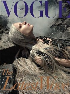 "Never afraid to broach controversial subjects, Franca Sozzani's August 2010 issue of Italian Vogue took on the BP oil spill. ""Fashion isn't really about clothes—it's about life,"" Sozzani has said."
