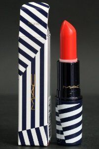 MAC Lipstick SAIL LA VIE ~ Hey Sailor collection by M.A.C. $26.89. SAIL LA VIE: bright midtone orange.. Limited edition from Hey Sailor collection.. Colour plus texture for the lips. Stands out on the runway. Simmers on the street...or at sea! Packaged in blue and white stripes, it's a match to everything Hey, Sailor! Limited edition.
