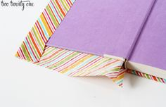 Fabric Covered Books - Two Twenty One