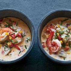 Creamy Shrimp Corn and Tomato Chowder