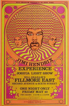 Jimi Hendrix. Experience. Music to your ears! This poster is truly amazing.