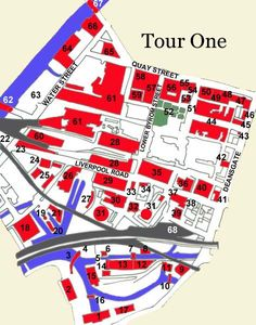 Tour One Map