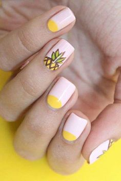35 Tropical Nail Art Design Ideas For Inspiration In Summer