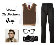 """Marcel: The Marketing Guy"" by mel2016 ❤ liked on Polyvore featuring Marc Jacobs, Spitfire, T By Alexander Wang and Calvin Klein"