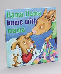 This Llama Llama Home With Mama Hardcover is perfect! #zulilyfinds