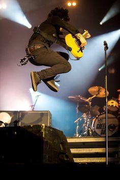 Billie Joe last night in Brisbane