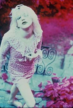 I had a feminist hippie mom, and she told me I could do whatever I wanted to do. -Courtney Love