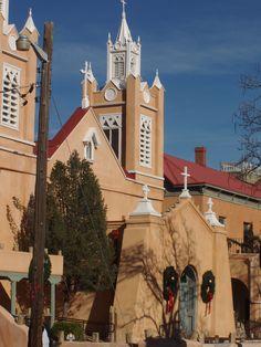 Church in Old Albuquerque.