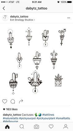 Cactus tattoo.                                                                                                                                                                                 Mehr