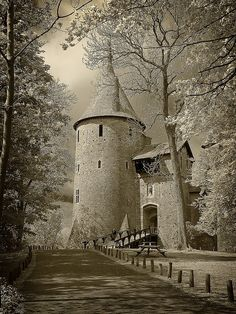 Love castles! Would love to live in one, this is more a keep than a castle though.