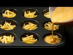 Sós muffin tojással és sajttal! Rövid idő alatt egy kulináris csodát fog kapni!| Ízletes TV - YouTube