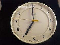 Braun Uhr 4781 / Abk31 Wanduhr Designklassiker Dieter Rams Lubs Top & Rare 1970-1979 Bild