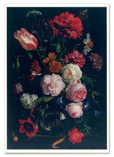 18th Century Dutch flower art by Jan Davidszoon@ Rijksmuseum