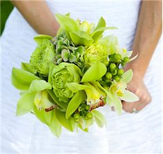 luscious greens..... love the textures and the orchids