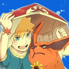 Pixiv Id 4519096, NARUTO, Kyuubi (NARUTO), Uzumaki Naruto, Tailed Beasts, Jinchuuriki
