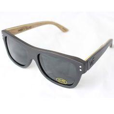 Wood Fellas Jimbaran Sonnenbrille Braun, Holzsonnenbrille