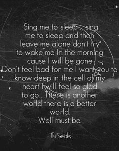 Asleep - The Smiths