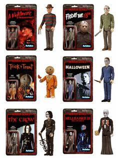 They're Out to Get You: Horror Movie Action Figures