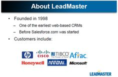 Improve your and by using LeadMaster's effective Lead Management Software. Here is a slide presentation so you can learn about LeadMaster on your own time! Lead Management, Power Of Now, Productivity, Improve Yourself, Software, Presentation, Learning, Business, Studying