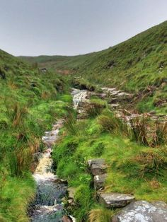 Not so gloomy -by archiebald7 #waterfall #UK #England #hiking