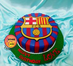 Barcelona Logo Cake | Flickr - Photo Sharing!
