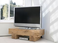 It's Just a Block of Wood TV Stands Ideas
