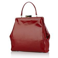 Lulu Guinness Cross Hatched Leather Eva Bag - take a closer look