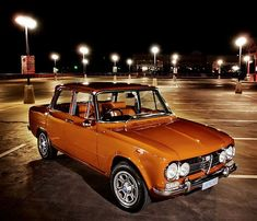1973 Alfa Romeo Guilia Super 1600cc #alfaromeoquadrifoglio