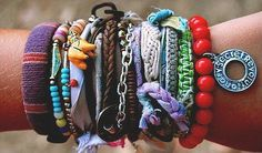 Everyday I'm stackin' (on the bracelets)