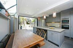 Side return kitchen